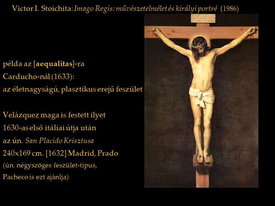 példa az [aequalitas]-ra Carducho-nál (1633):